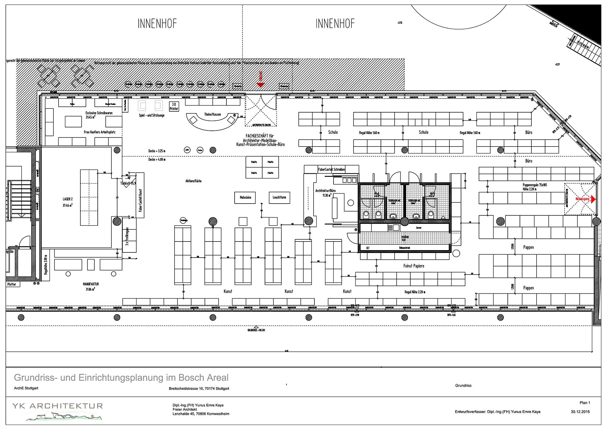 Yk architektur freier architekt yunus emre kaya for Fh stuttgart architektur